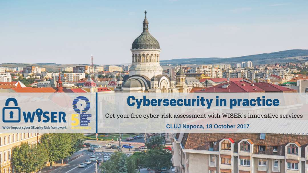 Cybersecurity in practice - Cluj Napoca, Romania 18-10-2017