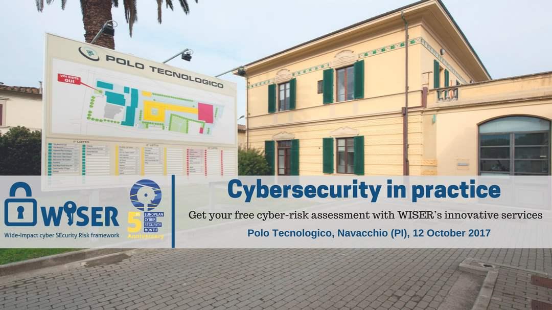 Cybersecurity in practice - Navacchio (Pisa), Italy 12-10-2017