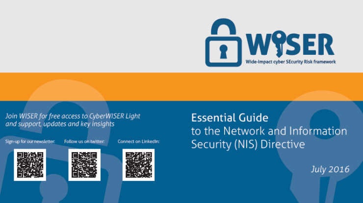 WISER essential guide to the NIS directive